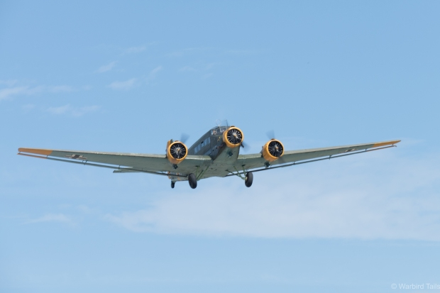 The JU52 is always a pleasure to watch display.