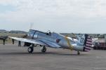 Steve Hinton parking up the P-36C.