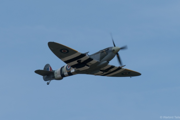 An early treat was a full display from the Kent Spitfire.