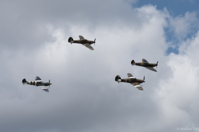 BBMF arrive in force.