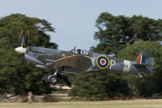 "The ""Home Team"" Spitfire - TD314."