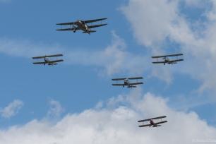 The de Havilland tribute formation.