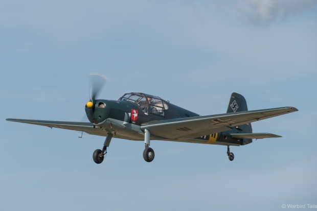 The Bestmann during its display.