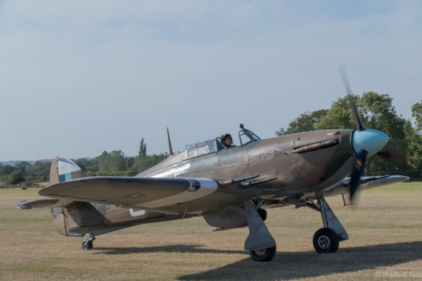 A close up look at the BBMF fighters is a very rare opportunity.