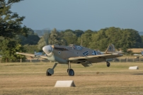 Buchon departing for Duxford in the late evening.