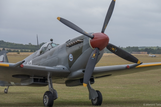 Spitfire SL633 is over from the United States.