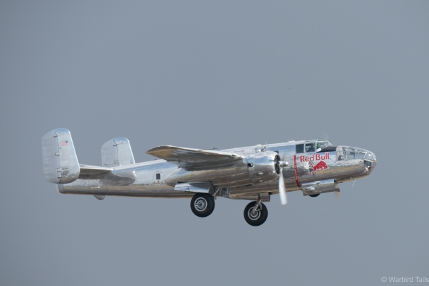 Red Bull's bare metal warbirds looked great once the sun came out!