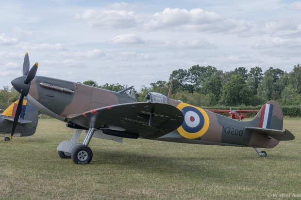 This show was my first time seeing N3200 at Old Warden, it was great to see this early Spitfire on the ground.