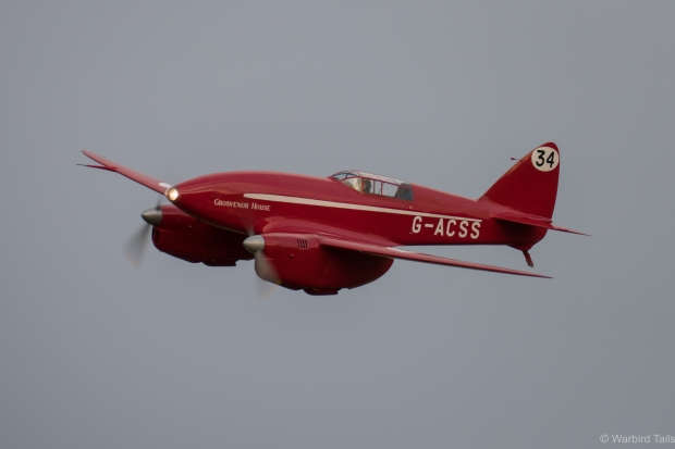 The would be bomber at Old Warden in July this year.
