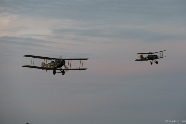 Se5a and Bristol Fighter.