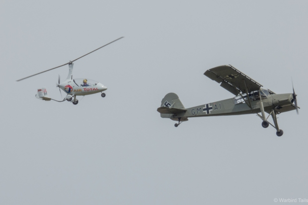 A classic Shuttleworth moment with an unexpected combination.