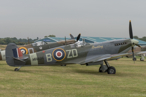 Mk IX MH434, a Spitfire with plenty of Biggin Hill connections.