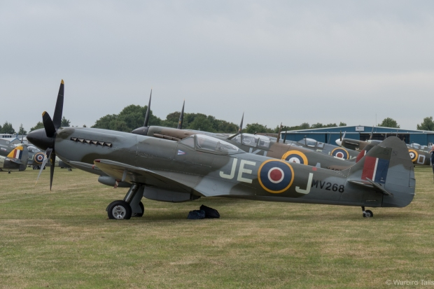 Mk XIV MV298 at Biggin Hill in 2015.