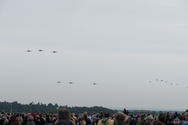 14 in one shot was the best I could manage but I think it gives an impression of the atmosphere of the event.