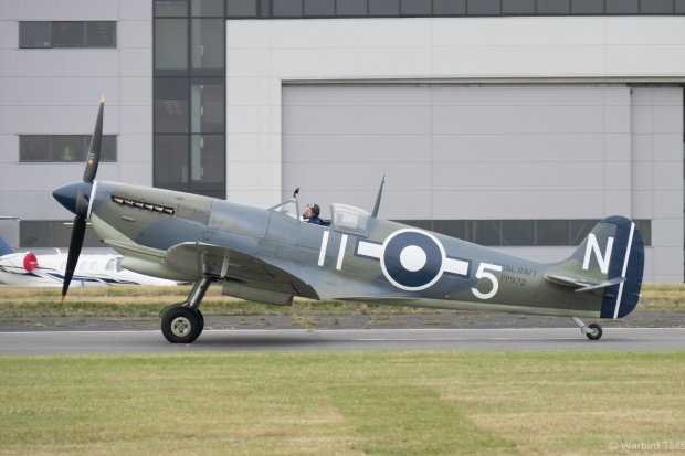 Seafire III PP772 was another rare addition to the line-up.