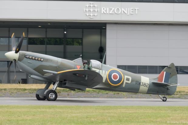 Mk XVI RW382 at Biggin Hill.