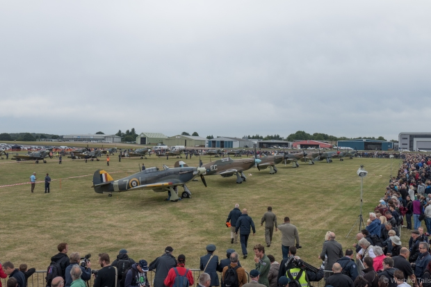 "The ""paddock"" had an extensive collection of aircraft."