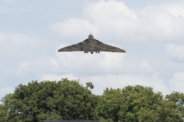 """That"" moment, this will certainly stay at the front of my mind when thinking of XH558's displays over the years. - Headcorn August 2015."