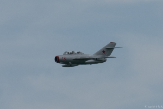 The tiny Mig 15.