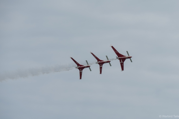 Patrouille Reva were a surprise highlight.