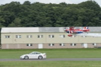...just in case anyone needed reminding this was a Wings & Wheels show!