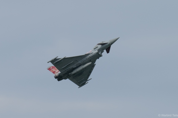 The Display Typhoon during its solo routine.