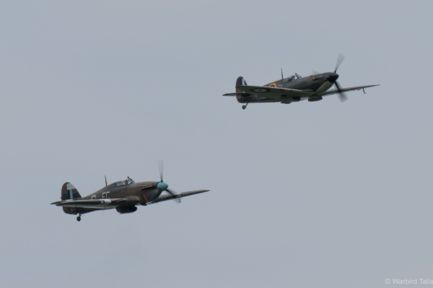 The very historic BBMF pair.