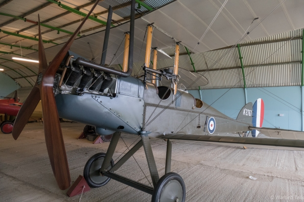 WW1 Aviation Heritage Trust's BE2e