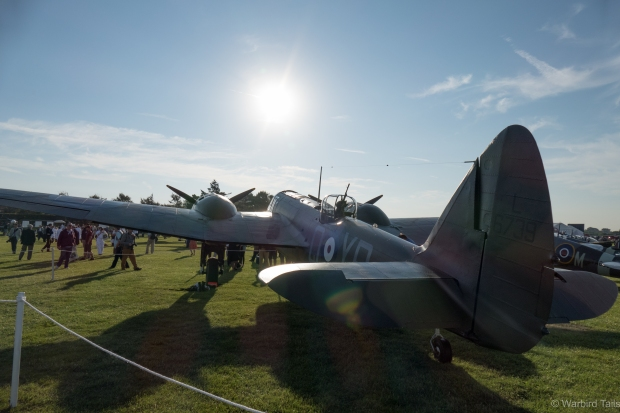 The Blenheim soaking up the early morning rays.