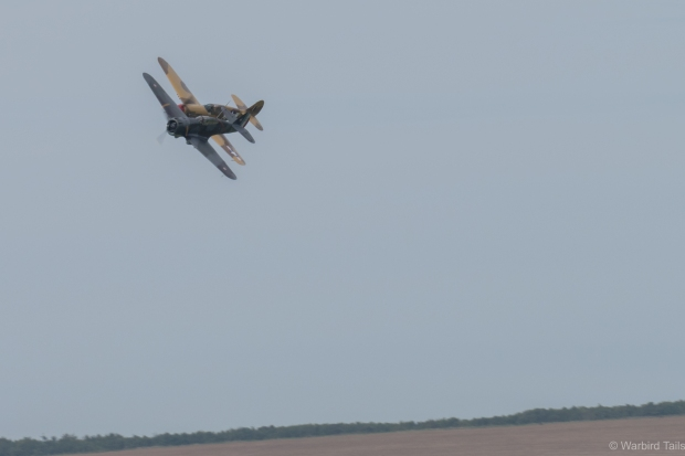the displays were carried out in a typically impressive Duxford style.