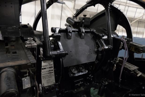 Inside the Defiant turret