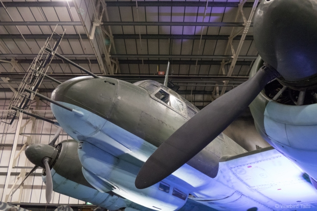 A close up view of the JU88 nose.