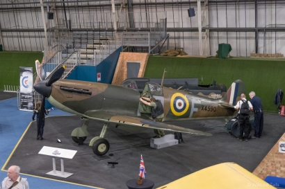 The museum's Spitfire.