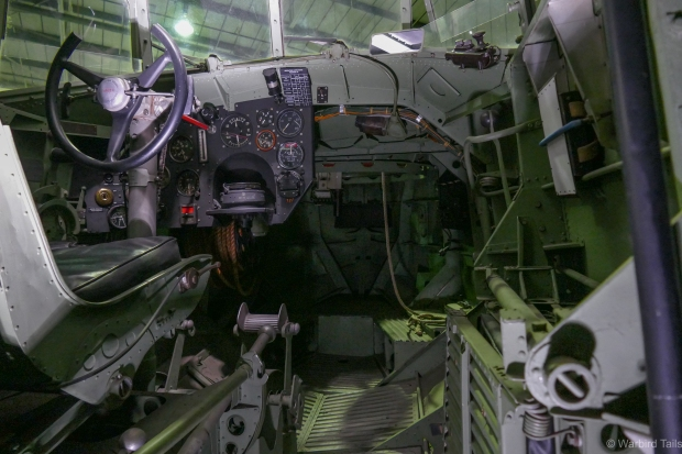 A glimpse inside the incredible cockpit of the Seagull.