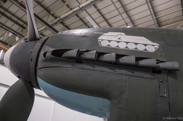 A look at the Stuka's nose art.
