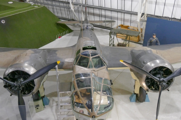 An Elevated view of the museum's Blenheim.