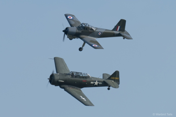 This pairing of Piston Provost and T6 Texan made a welcome change.