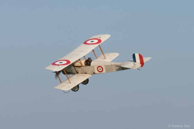 The Bristol Scout making its display debut.