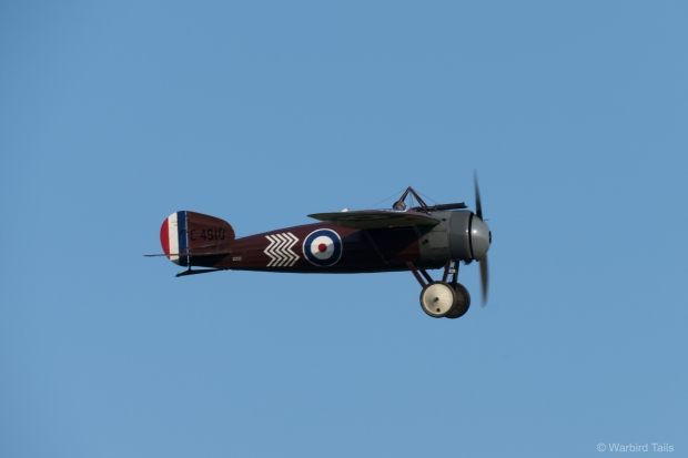 The third Bristol of the Great War to take part in the show, the M1C.
