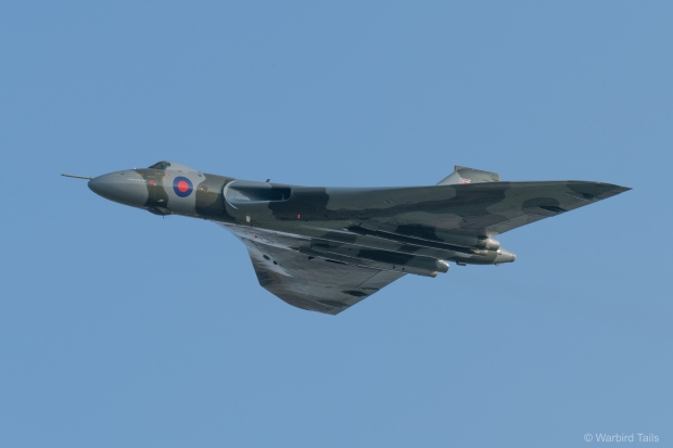 XH558 during the final display of her post restoration display flying career.
