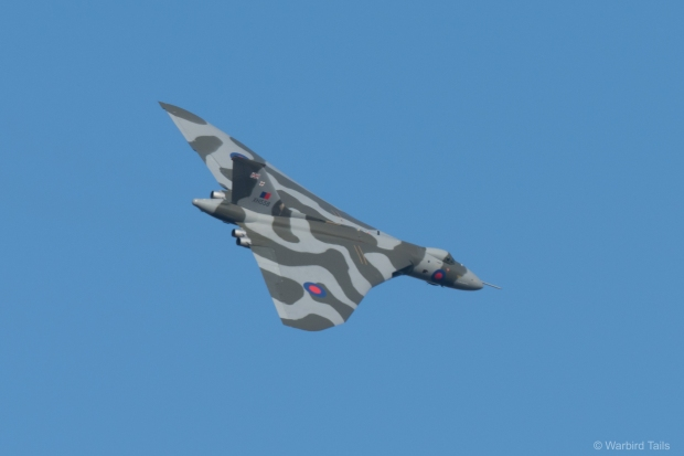 We were blessed with wonderful light for the Vulcan's farewell.