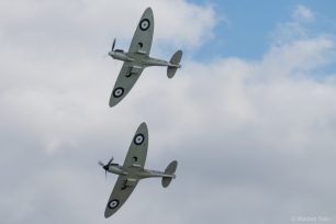 The Commanche Fighters Mk I pair.