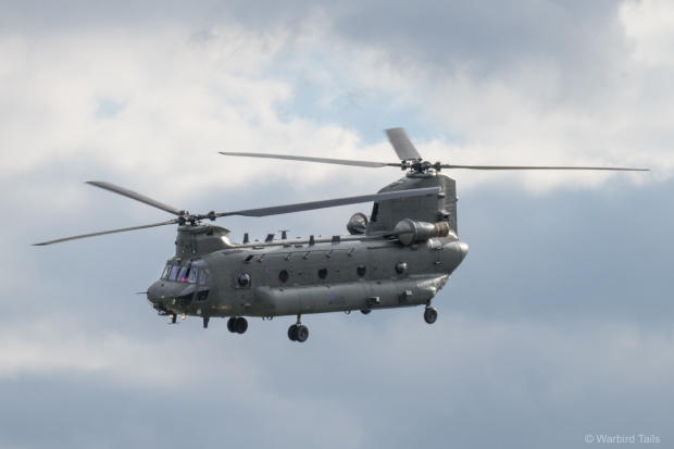 The Chinook display never fails to impress.