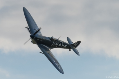 An undoubted highlight of the Spitfire finale, the Seafire III.
